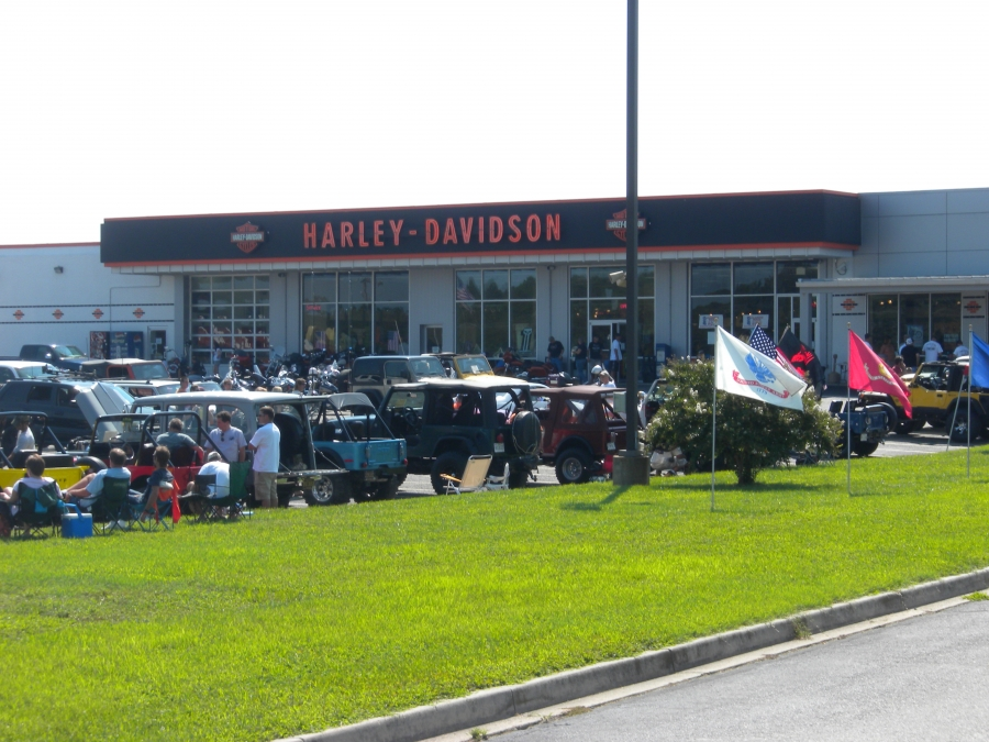 Thanks to the great folks at Harley-Davidson of Ocean City for letting us play in their yard