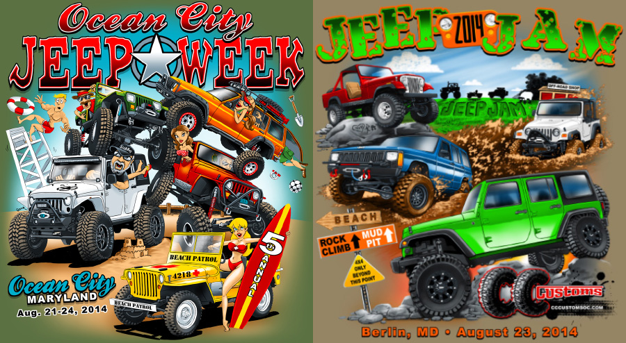 Proposition Jeep & beach 2014_tshirts
